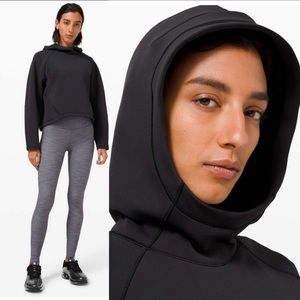 NWT Lululemon AirWrap Black Pullover Hoodie Size 10 New With Tag 2021 Sweatshirt